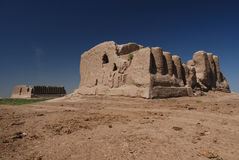 Merv Ruins. Ruins of Merv, ancient Silk Road city Stock Photos