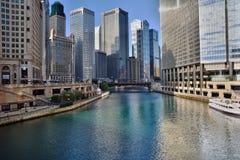 Merveille de l'architecture de Chicago image stock