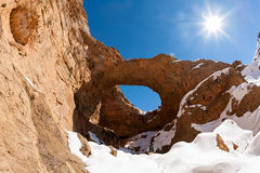 Merveille géologique de l'Afrique du Nord Images stock