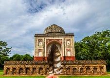 Merveille historique de Delhi photographie stock libre de droits