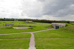 The Merville Battery Royalty Free Stock Photography