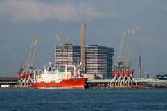 Merwehaven, Port of Rotterdam, Netherlands Royalty Free Stock Photography