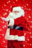 Mery圣诞老人 免版税库存照片