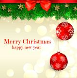 Mery Boże Narodzenia Zdjęcia Royalty Free