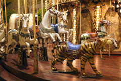 Mery-go-round carousel Stock Photos