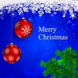Mery Weihnachten Stockfoto