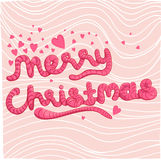 Mery Weihnachten Lizenzfreies Stockbild