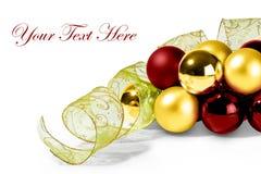 Mery Weihnachtskarte Lizenzfreies Stockbild