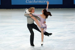 Meryl Davis / Charlie White Royalty Free Stock Photos