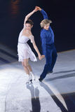 Meryl Davis and Charlie White Stock Images
