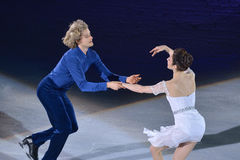 Meryl Davis and Charlie White Royalty Free Stock Photography
