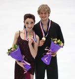 Meryl Davis und Charlie-Weiß von USA Stockfotografie