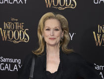 Meryl Streep Images libres de droits
