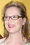 Meryl Streep arrives at the City of Hope's Music And Entertainment Industry Group Honors Bob Pittman Event. LOS ANGELES - JUN 12:  Meryl Streep arrives at the Stock Photo