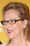 Meryl Streep arrives at the City of Hope's Music And Entertainment Industry Group Honors Bob Pittman Event. LOS ANGELES - JUN 12:  Meryl Streep arrives at the Stock Image