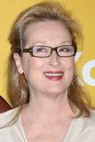 Meryl Streep arrives at the City of Hope's Music And Entertainment Industry Group Honors Bob Pittman Event. LOS ANGELES - JUN 12:  Meryl Streep arrives at the Royalty Free Stock Images