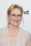 Meryl Streep bij de Toekenning die van de Voltooiing van het Leven AFI Shirley MacLaine, de Studio's van de Beelden van Sony, Culv Royalty-vrije Stock Afbeeldingen