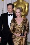 Meryl Streep, Colin Firth Stock Photo
