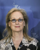 Meryl Streep deltar i den internationella juryphotocallen Royaltyfria Foton