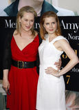 Meryl Streep et Amy Adams Photo stock