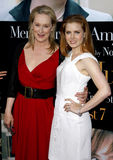 Meryl Streep et Amy Adams Photos stock