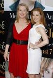 Meryl Streep et Amy Adams Image libre de droits