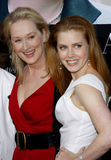 Meryl Streep et Amy Adams Images stock