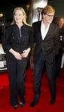 Meryl Streep och Robert Redford Fotografering för Bildbyråer