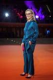 Meryl Streep på röd matta Arkivbild