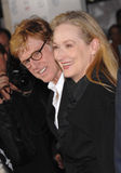 Meryl Streep, Robert Redford Stock Photo