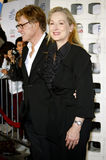 Meryl Streep and Robert Redford. Robert Redford and Meryl Streep attend the AFI Fest Opening Night Gala Premiere of Lions for Lambs held at the ArcLight Theater royalty free stock images