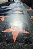 Meryl Streeps star on Hollywood Royalty Free Stock Photos