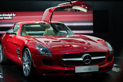 Merzedes Benz shown on 63rd IAA Stock Photos