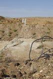 Merzenich - grävt upp landskap nära den dagbrotts- minen Hambach Fotografering för Bildbyråer