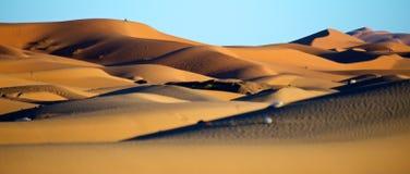 Merzouga沙漠 免版税库存照片