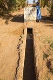 Merzouga,摩洛哥- 2016年11月03日:在Th的供水系统 库存照片