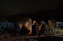 Merzouga camp Royalty Free Stock Image