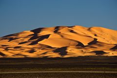 Merzouga desert Royalty Free Stock Photos