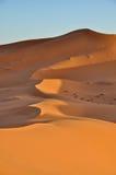 Merzouga desert in Morocco Stock Image