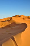 Merzouga desert in Morocco Stock Photo