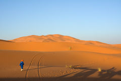 Merzouga desert Stock Photos