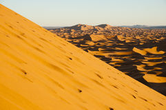 Merzouga Dunes - Morocco Stock Photography