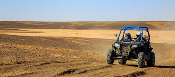 Polaris Desert Vehicles At Abu Dhabi International Hunting