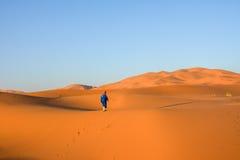 Merzouga pustynia obrazy royalty free