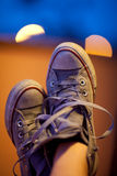 Mes chaussures Photo stock