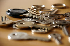 Mes clés Photographie stock libre de droits