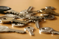 Mes clés Photos libres de droits
