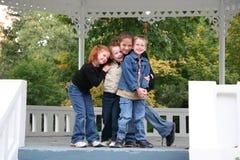 Mes enfants affectueux Images libres de droits