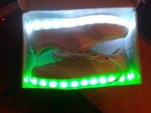 Mes nouvelles chaussures Images libres de droits