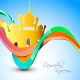Mes santo de la comunidad musulmán de Ramadan Kareem. Imágenes de archivo libres de regalías